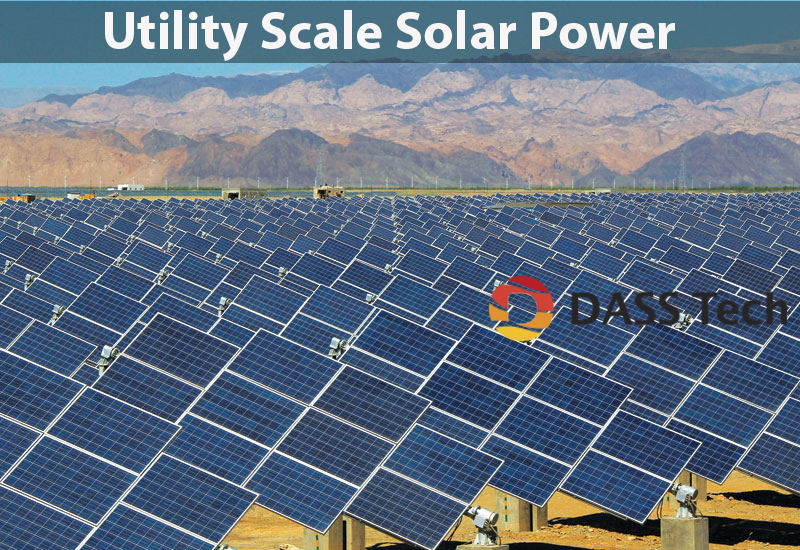 Utility-scale Solar Power